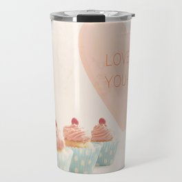 Love is You + Me Travel Mug