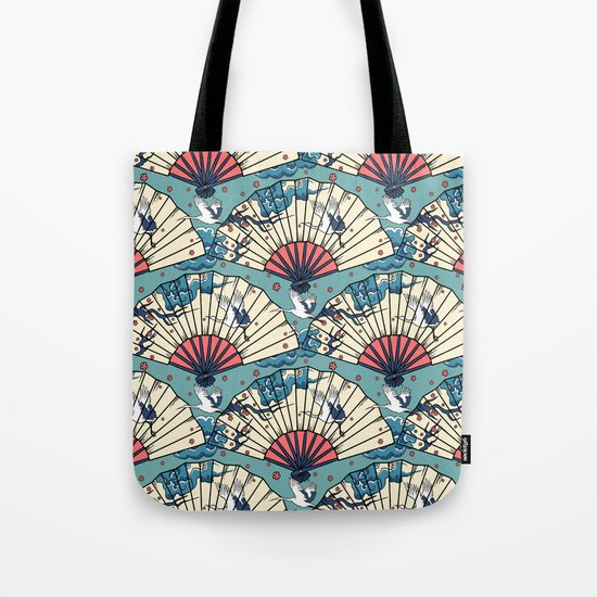 Oriental FanTasy Tote Bag