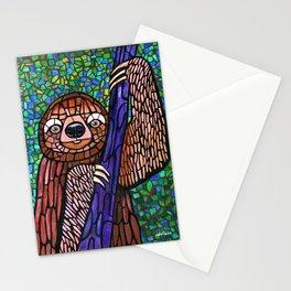 DJ Jazzy Sloth Stationery Cards