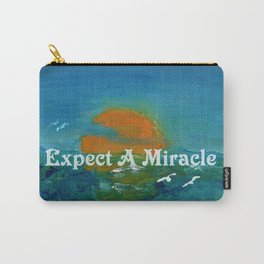 Expect A Miracle Carry-All Pouch