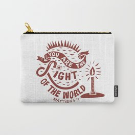 You are the Light of the World Carry-All Pouch