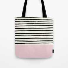 Bubblegum x Stripes Tote Bag