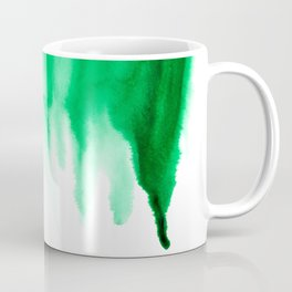 Emerald Bleed Coffee Mug
