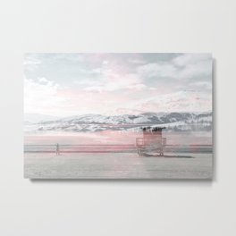 Distant Ocean Metal Print