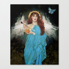 Blue Goddess Canvas Print