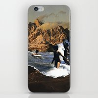 breaking iPhone & iPod Skins featuring Breaking by Lindsey Boss