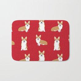 Corgis - Cute corgi, dog pet, corgi decor, corgi pillow, corgi bedding, corgi pattern, cute corgi de Bath Mat