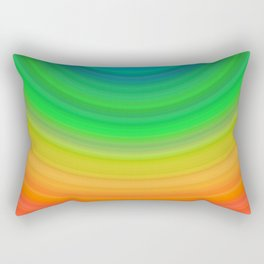 Rainbow Smile Rectangular Pillow