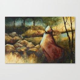Into the Briar Canvas Print