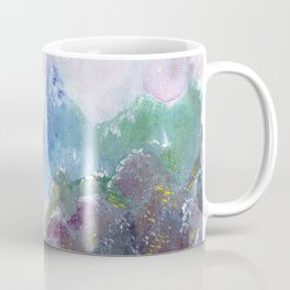 Forest of Light Watercolor Illustration Coffee Mug