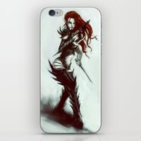 warhammer iPhone & iPod Skins featuring Dark Eldar Hagashin by The Art Of Maik Beiersdorf