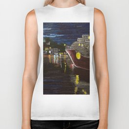 Moonlit Carenage Biker Tank
