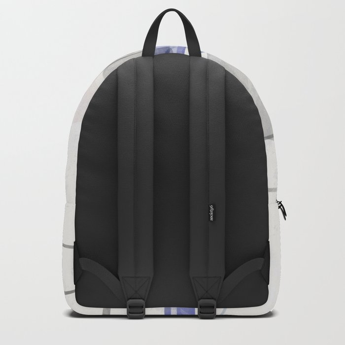 Abstract painting in light pastel tones . Backpack