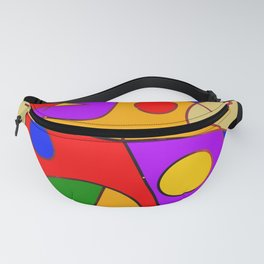 Abstract #206 Fanny Pack