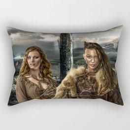Clexa - New World Rectangular Pillow