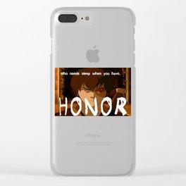 Avatar | Zuko Clear iPhone Case