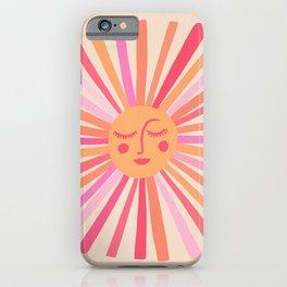Sunshine – Pink iPhone Case