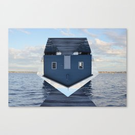 Down Under // Boatshed. Canvas Print