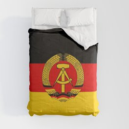 flag of RDA Or east Germany Comforters