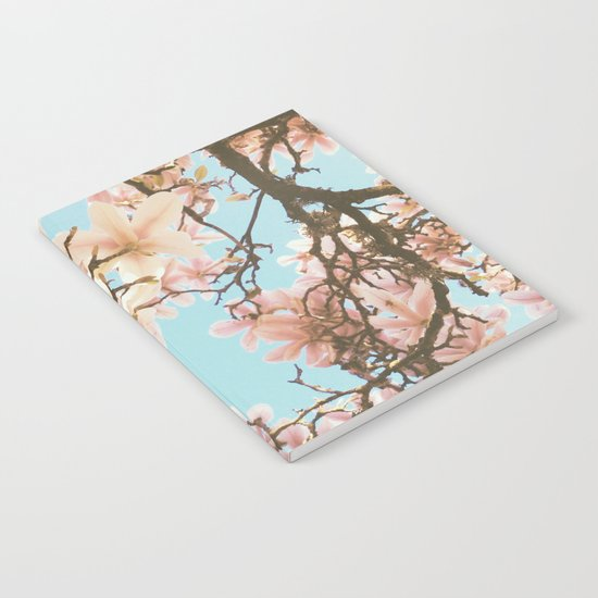 Pink Magnolia Notebook
