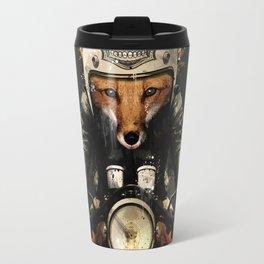Fox Biker Travel Mug