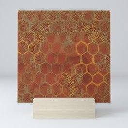 Save the bees Mini Art Print