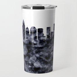 Charlotte Skyline North Carolina Travel Mug