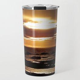 Copper Seascape Delight Travel Mug