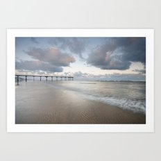 Saltburn by the Sea Art Print
