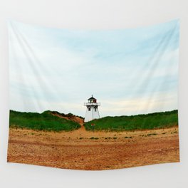 Stanhope PEI Lighthouse and Beach Wall Tapestry