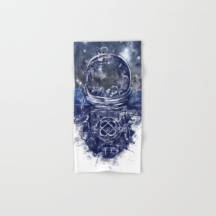galaxy landscape Hand & Bath Towel