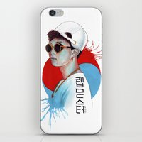 korea iPhone & iPod Skins featuring South Korea by Tunyon