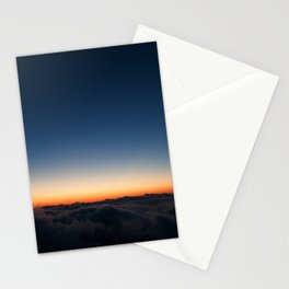 Above the clouds, what's to be found? Stationery Cards