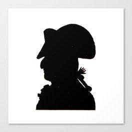 Pirate silhouette Canvas Print