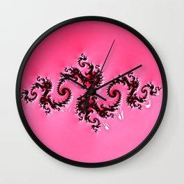 Liquified Velvet Wall Clock