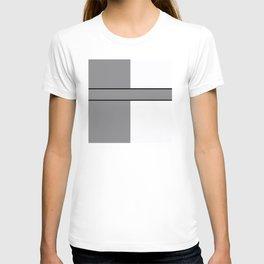 Team Color 6....gray.white T-shirt