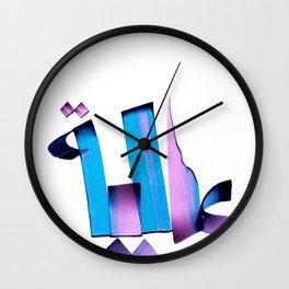 Alia Wall Clock
