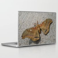 moth Laptop & iPad Skins featuring Moth by Deb MacNeil