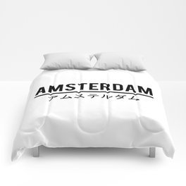 Amsterdam In Japanese Comforters