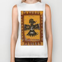 mexican Biker Tanks featuring Mexican design by LoRo  Art & Pictures