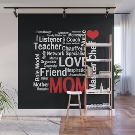 World's Best Mom Wall Mural