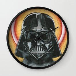 Saint Vader Wall Clock
