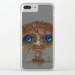 Little Wizard Clear iPhone Case