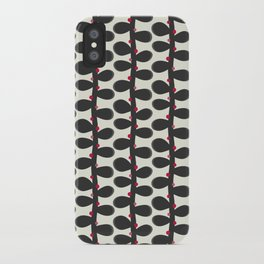 Like a Leaf [red spots] iPhone Case