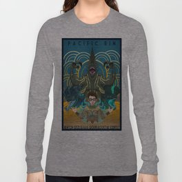 Newton Geiszler : Kaiju Groupie Long Sleeve T-shirt