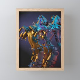 Coloring The Void Framed Mini Art Print