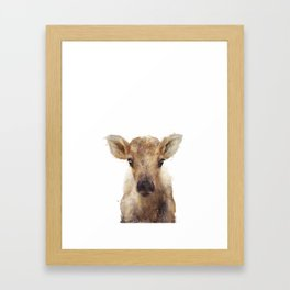 Little Reindeer Framed Art Print