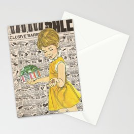 Penny Saved Stationery Cards