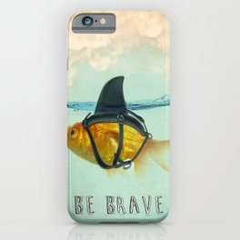 Be Brave - Brilliant Disguise iPhone Case