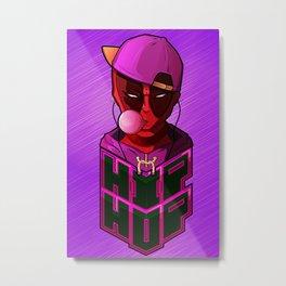Kid Hip Hop Metal Print